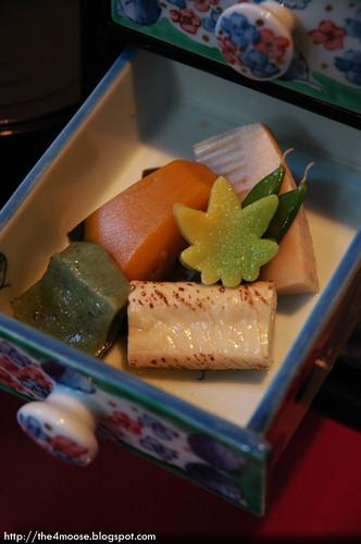 魚山園 Gyozan-en - 大原女弁当 Oharame Bento