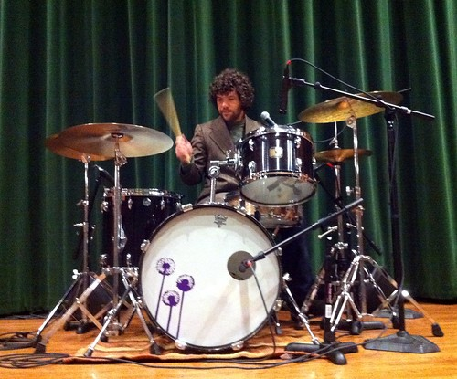 Brian at drums hardwick