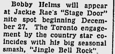 helms Ottawa Citizen - Dec 16, 1957