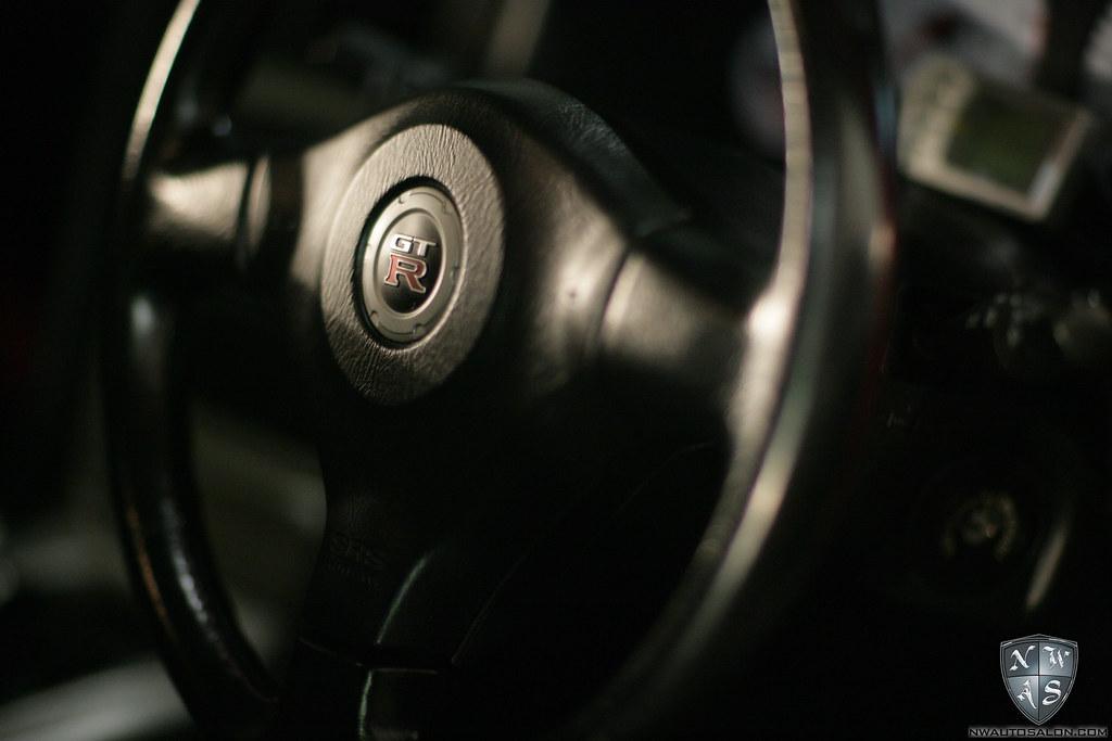 Nissan Skyline R34 GTR Vspec Detail
