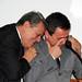 José Carlos e o filho José Carlos Fernandes Junior