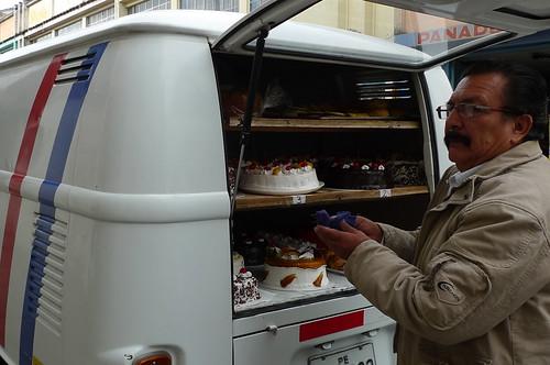 Cake Man - Cajamarca, Peru