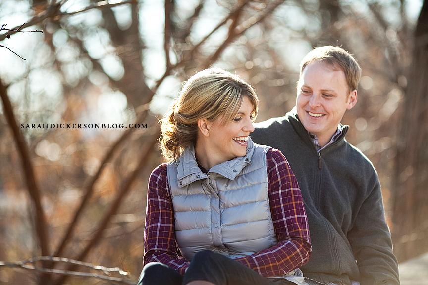 Lawrence Kansas engagement session