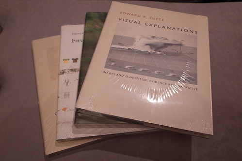 Tufte Books x 4