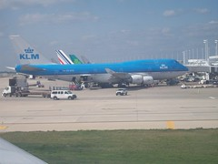 KLM Airplane (brettdresseur) Tags: plane airplane airplanes planes klm