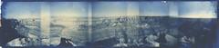Cape Final Holgarama Nº2 (efo) Tags: arizona bw panorama grandcanyon duotone cyanotype gumbichromate falsecolor holgarama bichrome digitalnegative altprocess altprocesses capefinal