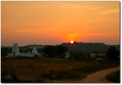 Have a nice weekend ! ($udhakar) Tags: sunset temple pentax dusk hyderabad tgif orr hpc outerringroad haveaniceweekend justpentax pentaxk100dsuper wwwsudhakarcom smcpda1645mmf40edal aroundnarsingi