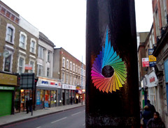 PS (delete08) Tags: street urban streetart london graffiti ps delete