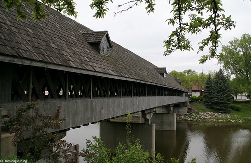 Frankenmuth Michigan covered bridge-5