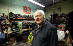 Frank the Cobbler: Sunset Park Brooklyn (Chris Arnade) Tags: newyorkcity brooklyn sunsetpark cobbler chrisarnade