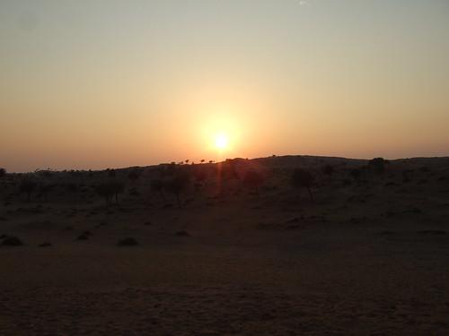 Sunset Over Desert 2