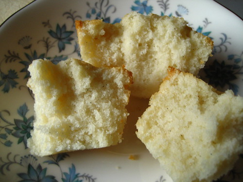 Financier-Style Vanilla Bean Pound Cakes