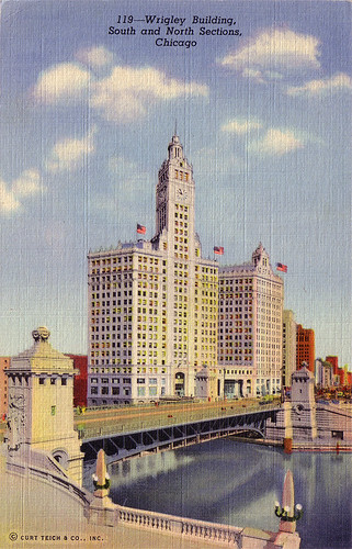 Wrigley Building, South and North Sections, Chicago [119]