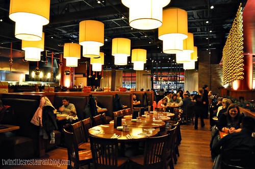 Inside Flame Rotisserie Grill & Bar ~ Roseville, MN