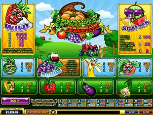 free Farmer's Market slot mini symbol