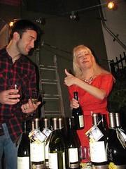 """A-OK!"" (Lucyrk in LA) Tags: california ca people woman man lady heidi person la losangeles december drink weekend winetasting ok booksigning wines laist lucyrkinla"