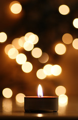 the bokeh candle... (thbaz) Tags: christmas xmas winter light color macro weihnachten fire licht candle dof time bokeh dream kerze alpha makro 90mm feuer zeit trumen 100commentgroup mygearandmepremium