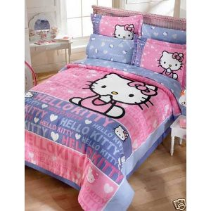 hello kitty bedding gives that magical touch to any girl 39 s bedroom