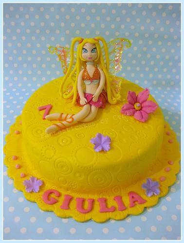 Torta fata Winx Stella / Winx Stella Fairy Cake