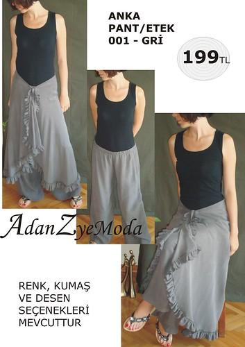 Anka Pant-Etek 001 grey