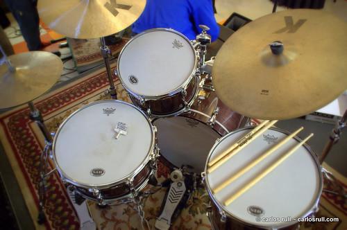 jazz drumset at D/C/20