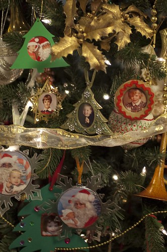 our little family section of ornaments