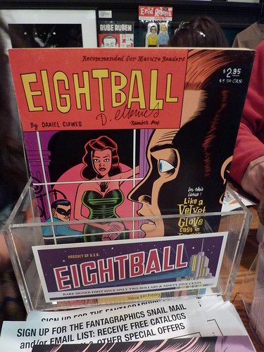Signed copies of Eightball #1, Fantagraphics Bookstore & Gallery, Dec. 11, 2010