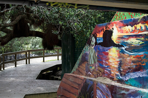 Waiake Beach Bridge Underpass Mural