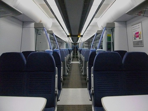 Javelin - High speed train interior (UK)