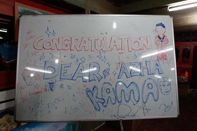 Congrats to Asha Kama