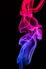 Colored smoke (grazanna) Tags: colors smoke colored colori fumo kolory canon50mm dym colorphotoaward