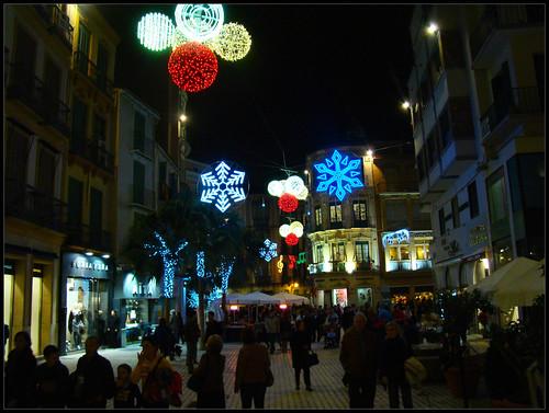 Decoración navideña Málaga (2)