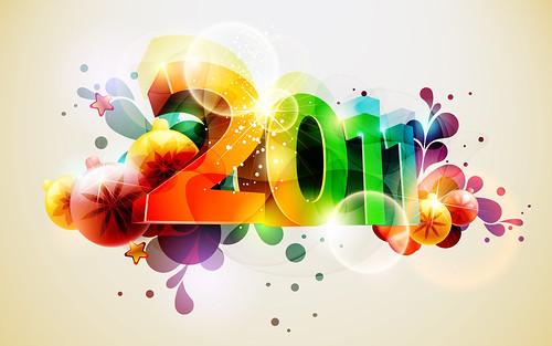 Happy New Year 2011 por Mooi Hsieh, em CC