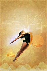 Leaping Faith (im_cr) Tags: world woman art graphicart photomanipulation jump blind faith religion trust leap confidence