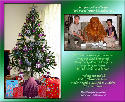 Christmas 2010 and New Year 2011 greeting card