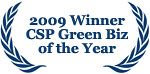 Staged4more 2009 CSP Certified Staging Professional Green Business of the Year Award