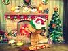 Merry Christmas Eve (Sock Hop Adoption Shop) Tags: christmas holiday tree asian toy actionfigure fire japanese robot box cartoon manga plastic presents smores christmaseve marshmellows yotsuba posable danbo revoltech boxrobot danboard revoltechdanbo