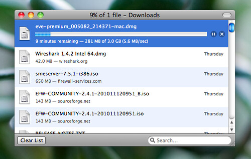 Gigabit Internet Download
