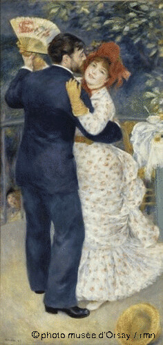 Danse à la campagne, Pierre Auguste Renoir, 1883