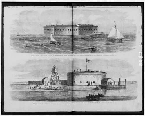 Fort Sumter and Castle Pinckney