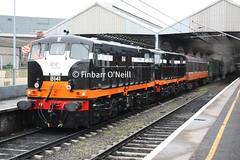 Dublin Connolly (finnyus) Tags: ireland dublin railways 141 142 connolly rpsi b142 141class railwaypreservationsocietyofireland b141 finbarroneill finnyus