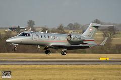 OE-GVA - 45-2079 - Vista Jet - Learjet 40XR - Luton - 100205 - Steven Gray - IMG_6916