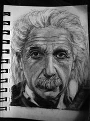Einstein Sketch (JOSHLROBBINS) Tags: portrait art face pencil sketch einstein