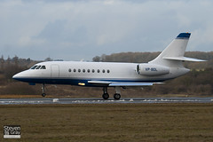 VP-BDL - 111 - Private - Dassault Falcon 2000 - Luton - 100224 - Steven Gray - IMG_7333