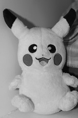 Pika! (SarahHeyyyo) Tags: animal stuffed pikachu