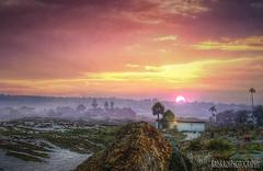 almost twilight in san diego (Kris Kros) Tags: california ca sunset fog photoshop twilight san sandiego foggy diego kris coronado hdr kkg photomatix kros kriskros 1xp cs5 dscn0415 kkgallery