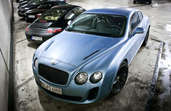 Bentley Continental Supersports Coup (///amg87) Tags: black germany deutschland cologne continental kln bleu bentley coup keulen supersports