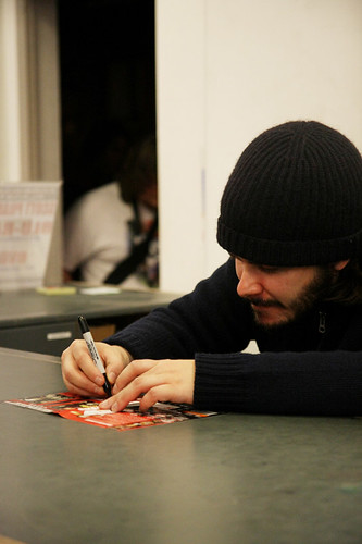 Edgar Wright - Forbidden Planet signing