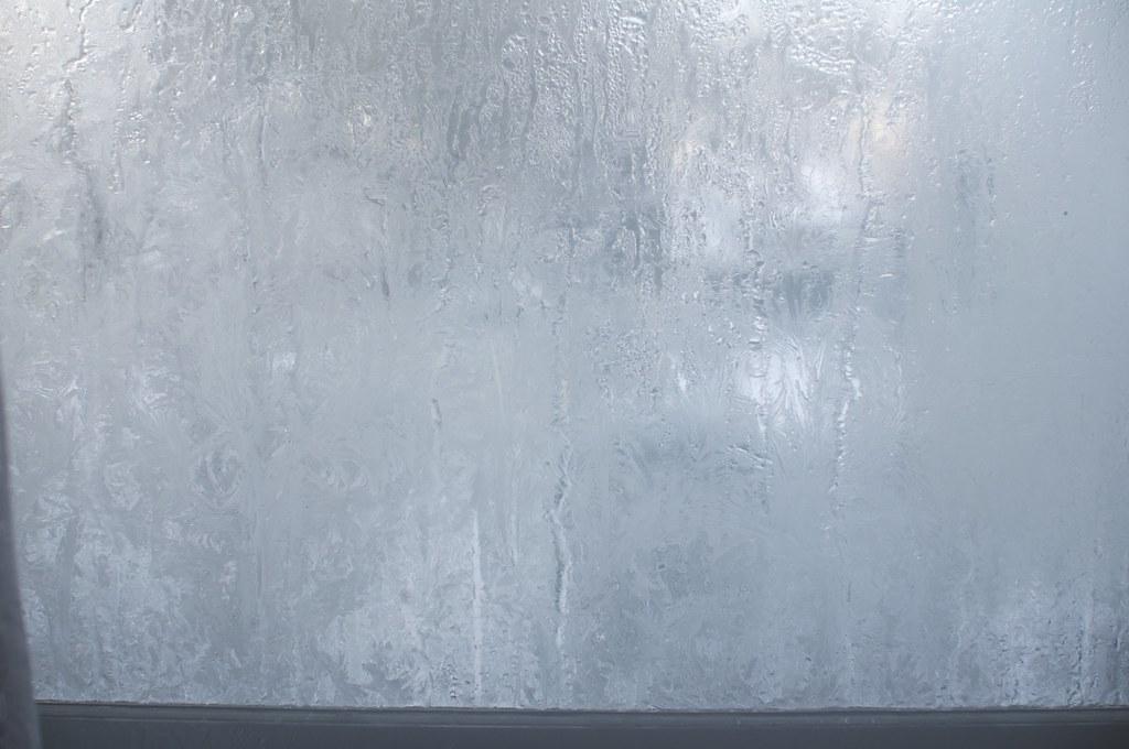 凍りついた窓 2010-12-31