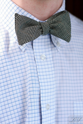 Glen Plaid bowtie
